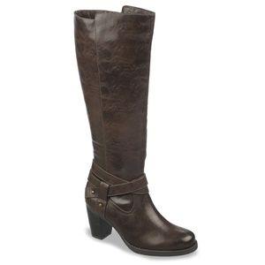 NaturalSoul Naturalizer Carolina Tall Brown Boots